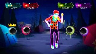 Just Dance 3 - She's Got Me Dancing Wii footage EUROPE