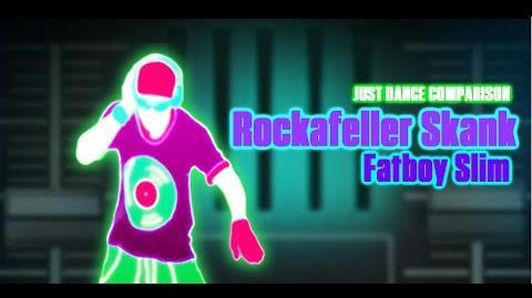 Just Dance Comparison - Rockafeller Skank (Fatboy Slim)