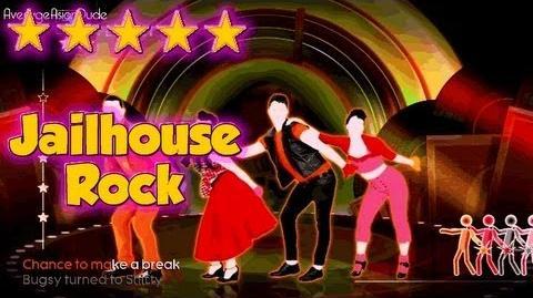 Just Dance 4 - Jailhouse Rock - 5* Stars