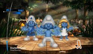 Smurfberry-licious Gameplay