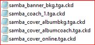 Samba banner bkg wii files