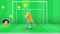 Tennisplayer lab gameplay