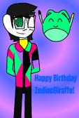 ZodiacGiraffe gift