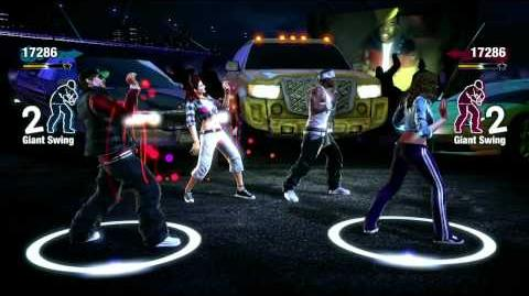 Chris Brown ft Busta Rhymes - Look At Me Now The Hip Hop Dance Experience Gameplay