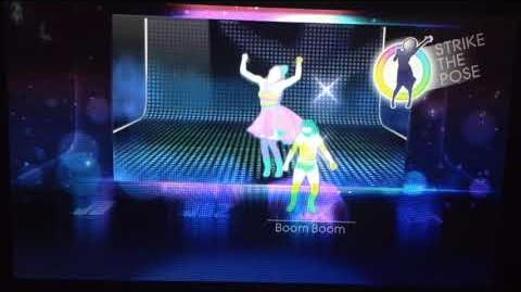 Just Dance 4 - Mas Que Nada Puppet Master Mode (Gamepad View) (Wii U)