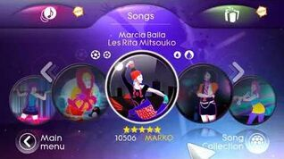 Les Rita Mitsouko - Marcia Baila (Just Dance 3 In-Game Version)