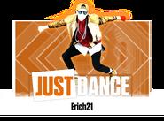 Erich21 2017 Sticker