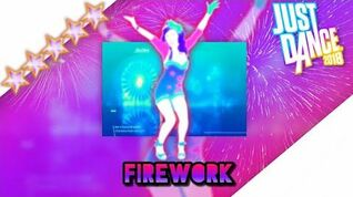 Just Dance 2018 unlimited Firework -Megastar