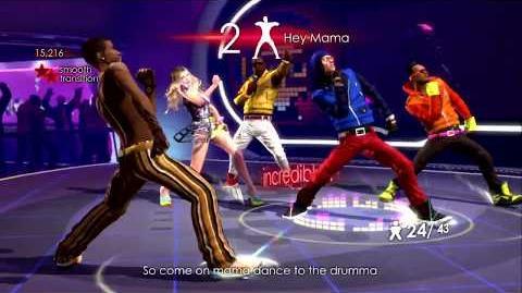 Hey Mama - The Black Eyed Peas Experience (Xbox 360) (Area 246)