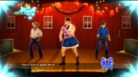Just Dance Disney Party -21- Miley Cyrus - Hoedown Throwdown Full Song