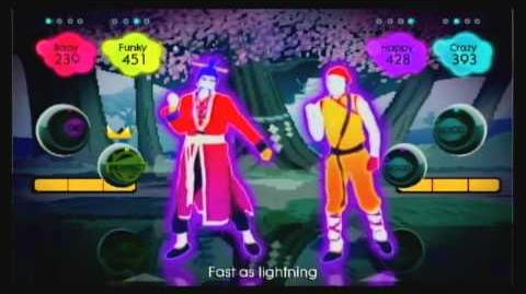 Kung Fu Fighting - Just Dance 2 Gameplay Teaser (UK)