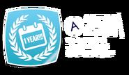 One Year BadgeDisp