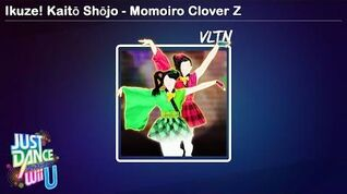 Ikuze! Kaitō Shōjo - Just Dance Wii U