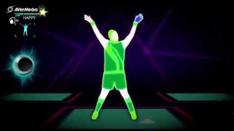 Just Dance 3 Skin-To-Ski, Sweat Invaders (Solo) 5*