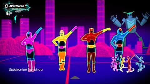 Spectronizer - Just Dance 3 (Xbox 360 graphics)