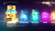 DanceQuest menu