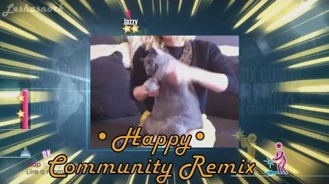Just Dance 2015 - Happy (Community Remix) - 5 Stars Gameplay, PS4 Camera.