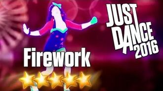 Just Dance 2016 - Firework - 5 Stars