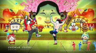 Just Dance Yo Kai Watch Special Edition Bullys Beat Camp Playlist 6 songs wii u