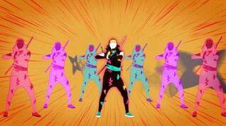 Ninja Re Bang Bang - Just Dance Wii U (No GUI)