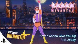Just Dance Unlimited - Never Gonna Give You Up Just Dance 4 - Megastar