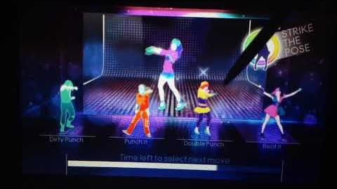 Just Dance 4 - Good Feeling Puppet Master Mode (Gamepad View) (Wii U)