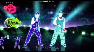 Just Dance Wii Japan Choo Choo TRAIN - 4 Stars