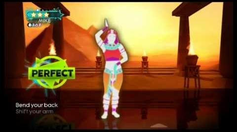 Just dance 3 walk like a egyptian 4 stars