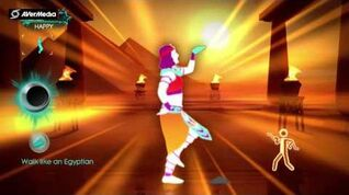 Just Dance 3 Walk Like an Egyptian, The Bangles (Solo)-(DLC) 5*