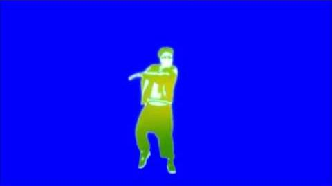 Just Dance Now - Pump Up The Jam Blue Screen Extraction