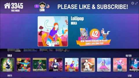 Just Dance Now Full Menu (10 22 15) Part 2