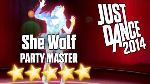 Just Dance 2014 - She Wolf (Party Master) - 5 stars