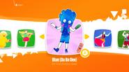 Blue jd2018 kids menu