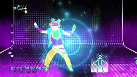 Just Dance 4 Good Feeling Puppet Master Mode (JD3)