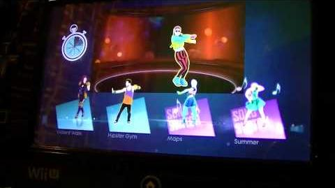 Just Dance 2015 - Built For This - Party Master (Wii U Gamepad View)