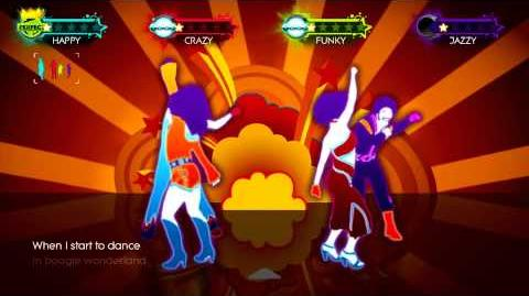 Boogie Wonderland Just Dance 3 Gameplay 5 Stars 4 Players