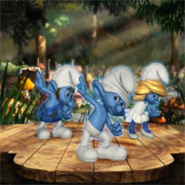 Smurfberry cover generic