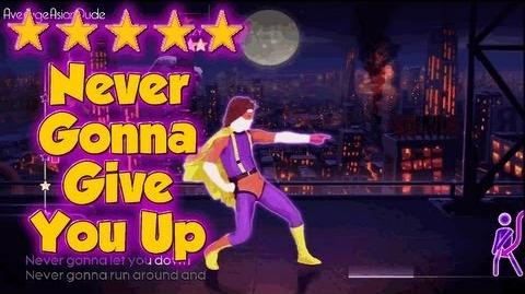 Just Dance 4 - Never Gonna Give You Up - 5* Stars-0
