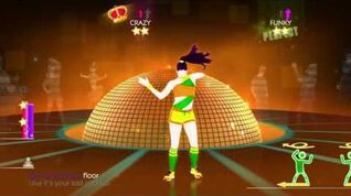 Just Dance 2014 Starships mash up 2 players 4 stars ps4 camera