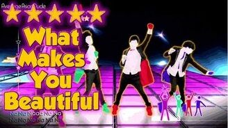 Just Dance 4 - What Makes You Beautiful - 5* Stars