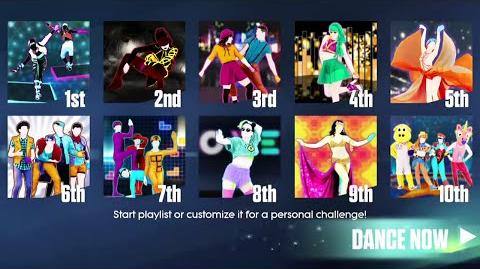 Just Dance 2015 - Sweat Mode - 10 songs