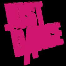 Justdance pink logo
