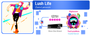 Lush M617Score