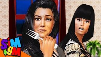 Nicki Invites Kourtney Kardashian to Dinner (Diva House)-0