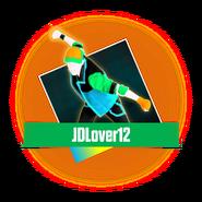 JDL12 UpSticker