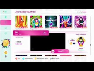 Just Dance 2020 (Unlimited) Sax 5*'s Gameplay