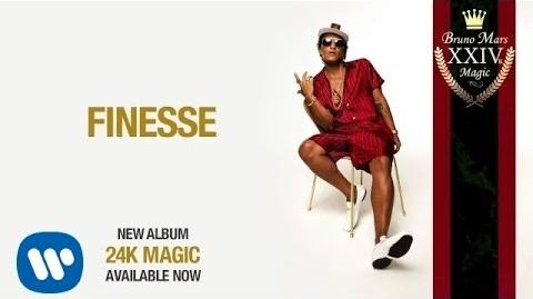Bruno Mars - Finesse Official Audio