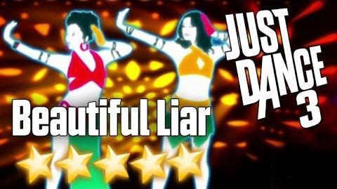 Just Dance 3 - Beautiful Liar - 5 stars