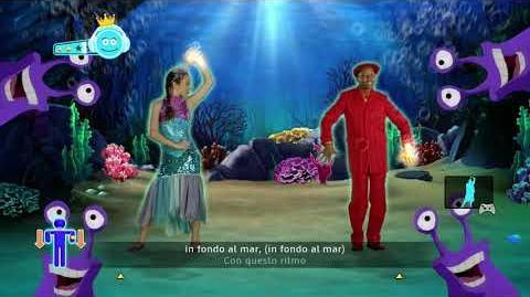 Just Dance Disney Party In Fondo Al Mar (Under The Sea - Italian Version)