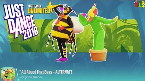 All About That Bass (Flower & Bee Version) - Just Dance 2018